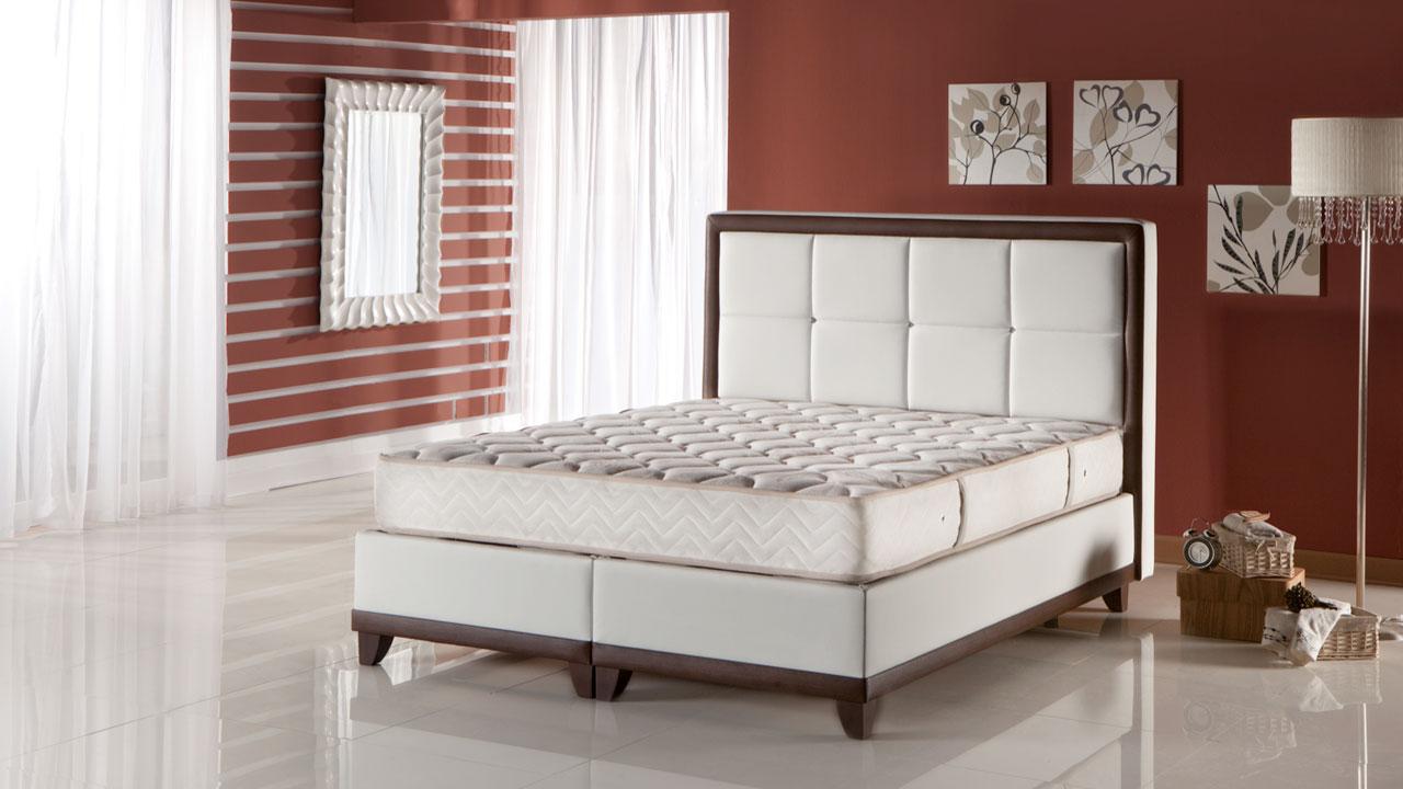 Picture of: Class Seng Med Opbevaring 140×200 Cm Basic Furniture Aps