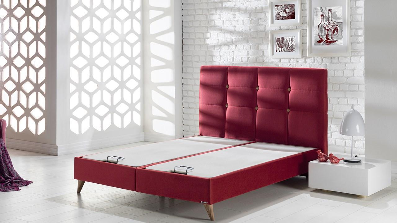 Picture of: Lima Seng Med Opbevaring 120×200 Cm Basic Furniture Aps