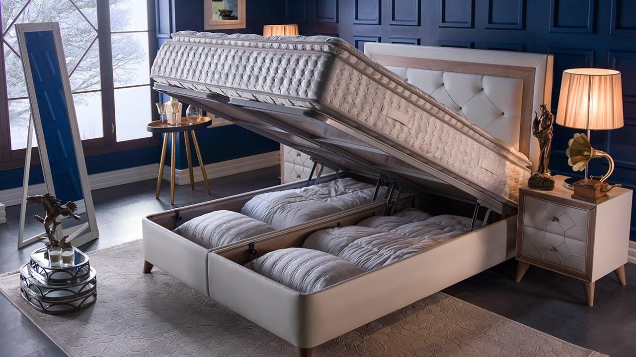 Orleon seng med opbevaring 180x200 cm - Istikbal, Basic Furniture